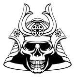 Skull Samurai Warrior Royalty Free Stock Photography