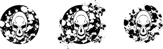 Skull set 2 Royalty Free Stock Photography