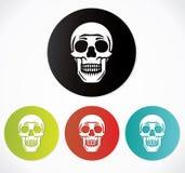 Skull set Stock Images