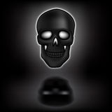Skull with shadow Royalty Free Stock Photos