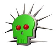 Skull shape Stock Photography