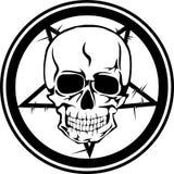 Skull sign. Vector illustration skull  format EPS8 Royalty Free Stock Photo