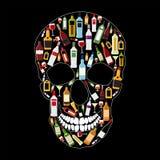 Skull Sign Vector Illustration vector illustration