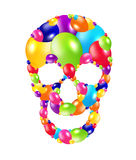 Skull Sign Vector Illustration Royalty Free Stock Photo