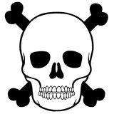 Skull  for skull Mexican Stock Photos