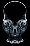 Skull of Smoke Royalty Free Stock Photos