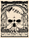 Native skull Stock Images