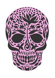 Skull 2.1. Sugar skull day of the dead illustrations design Stock Photography