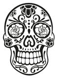 Skull, sugar skull Royalty Free Stock Images