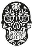 Skull, sugar skull Royalty Free Stock Photo