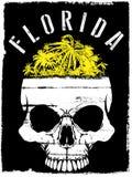 Skull Summer T shirt Graphic Design Stock Photography