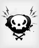 Skull symbol Stock Photo