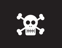 Skull Symbol Royalty Free Stock Photography