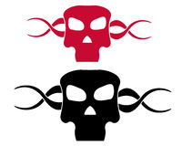 Skull symbol Royalty Free Stock Images