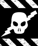 Skull Symbol Danger. Vector Stock Photos