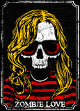 Skull T shirt Graphic Design Stock Images