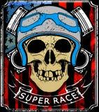 Skull T shirt Graphic Design Royalty Free Stock Photo
