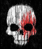 Skull T shirt Graphic Design Stock Photography