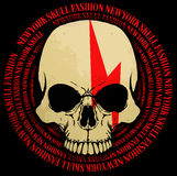 Skull T shirt Graphic Design Royalty Free Stock Images
