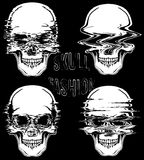 Skull T shirt Graphic Design Royalty Free Stock Photography