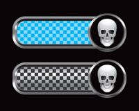 Skull on tabs Royalty Free Stock Photography