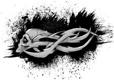 Skull tattoo Royalty Free Stock Photos