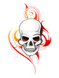 Skull tattoo Royalty Free Stock Images