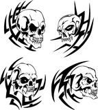 Skull tattoos Royalty Free Stock Images
