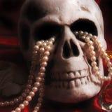 Skull and Treasure Royalty Free Stock Image