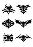 Skull tribal tattoo Stock Images