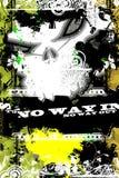 Skull Urban Grunge Stock Image