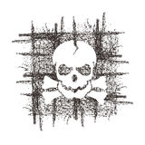 Skull. Vector format Stock Images