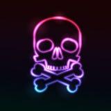 Skull. Vector illustration. Royalty Free Stock Images