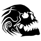 Skull vector Royalty Free Stock Photos