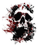 Skull vector Royalty Free Stock Image