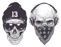 Skull vector Stock Photos