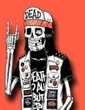 Skull vector Stock Images