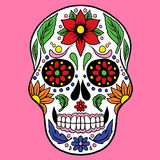 Skull vector Royalty Free Stock Photos
