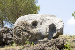 Skull of Vesuvius Royalty Free Stock Photo
