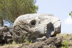 Skull of Vesuvius Royalty Free Stock Photo