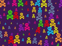 skull wallpaper Стоковая Фотография RF