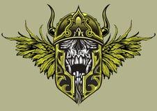 Skull warrior Royalty Free Stock Photo