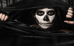 Skull women Royalty Free Stock Photography
