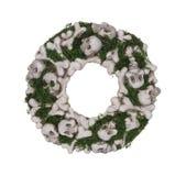Skull Wreath Stock Photography