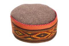 Skullcap with traditional Indian arnamentom Royalty Free Stock Photo