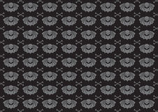 Skulls background. Vector illustraition of skulls abstract background Royalty Free Stock Photo