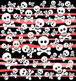 Skulls background Royalty Free Stock Images