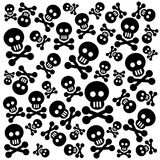Skulls background Stock Photo