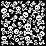 Skulls background Stock Images