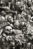 Skulls and bones for halloween Royalty Free Stock Photos